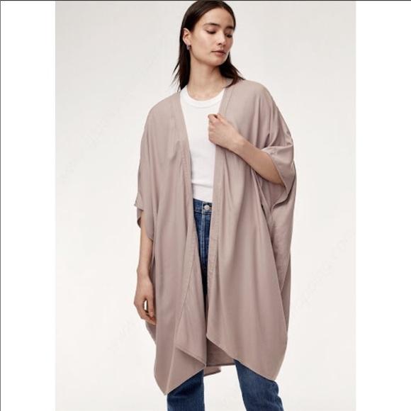 Talula Grey/Purple Kimono Cardigan Size: XXS/XS